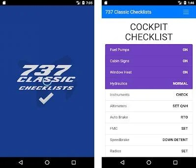 Boeing 737 Classic Checklists 1 2 1 apk download for Android
