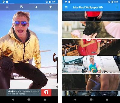 Jake Paul Wallpaper HD (Backgrounds) preview screenshot
