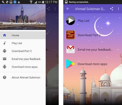 Ahmad Suleiman Offline Quran MP3 Part 1 2 1 apk download for