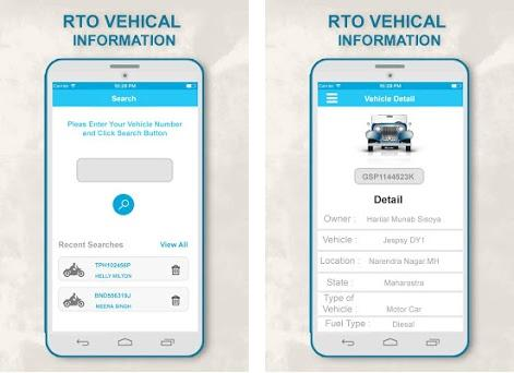 RTO Info for Vehicle Registration& Driving License on