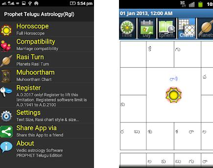 Horoscope Telugu - Supersoft Prophet 6 3 3 apk download for