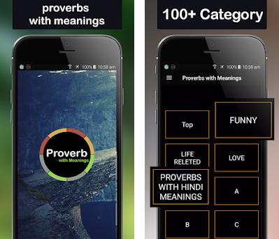 Proverbs with Meanings 1 2 apk download for Android • com