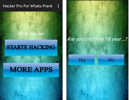 Hacker Pro For Whats Prank 1 0 apk download for Android