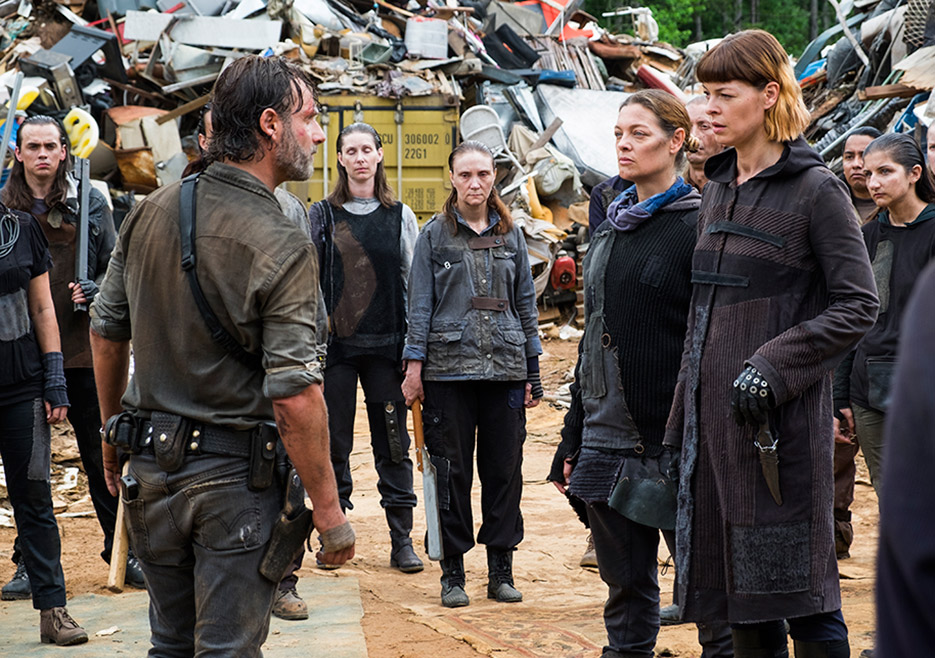 """The Walking Dead 8x06: Análisis de """"The King, the Widow, and Rick ..."""