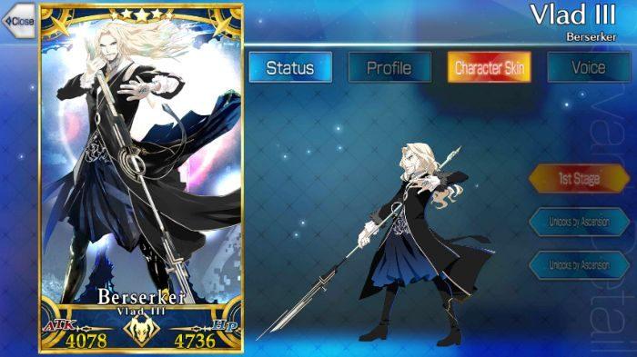 [Fate Grand Order / FGO ] Vlad III (Berserker): Skills. Stats and. Strategies