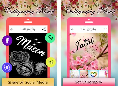 Calligraphy Name 1 5 apk download for Android • com wisetoddler