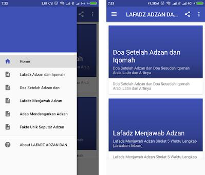 Lafadz Adzan Dan Iqomah 1 0 Apk Download For Android Doa Adzan Dan