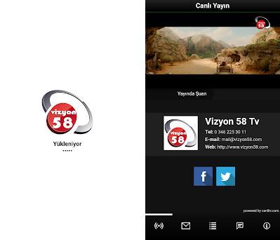 Vizyon 58 Tv 0 0 1 apk download for Android • trex tv vizyon58tvmobile