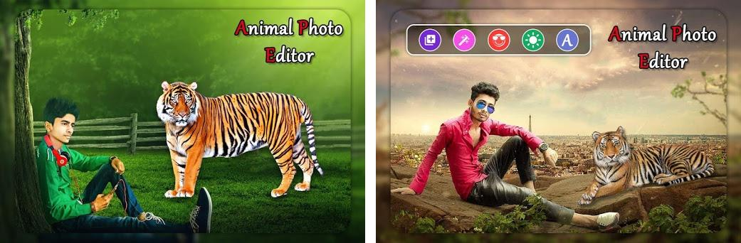 Wild Animal Photo Editor Animal Photo Frames 1 2 Apk Download For