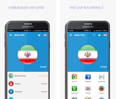 IRAN VPN-Free Unblock Proxy 2 3 0 apk download for Android