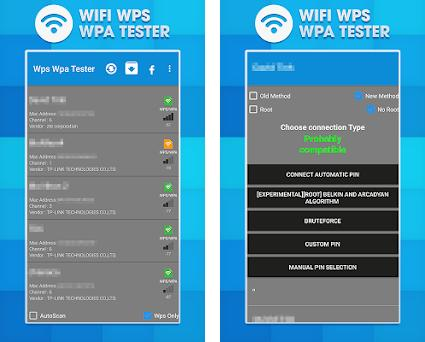 WPS WPA Wifi Test 1 0 apk download for Android • com vendra ivernwpswpa