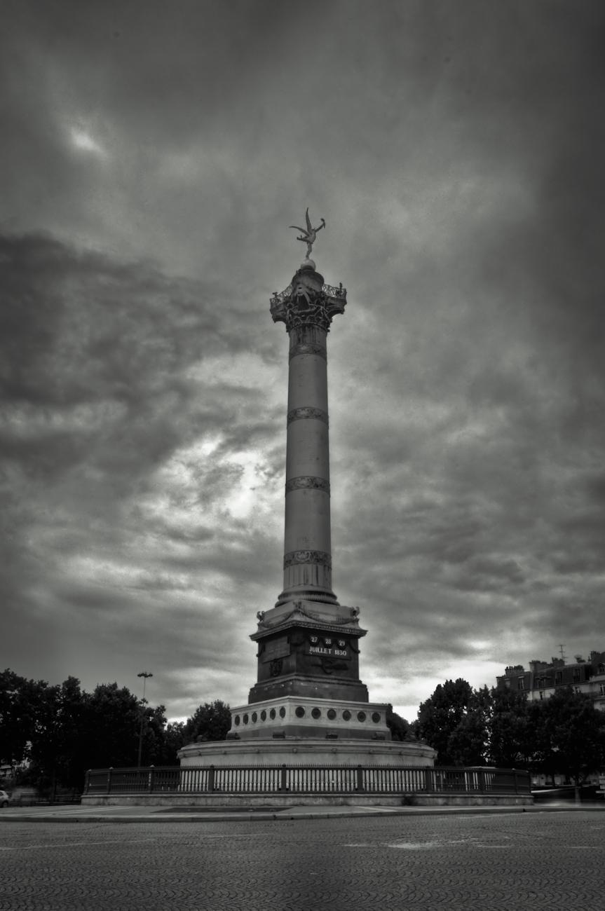 Place De La Bastille - Paris Hdr Creme
