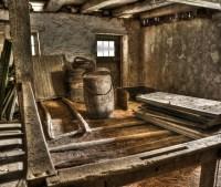 Old Barn Interior | HDR creme