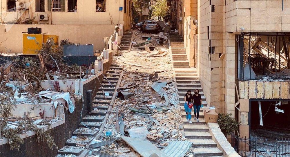 Le port de Beyrouth avant et après le drame vu depuis l'espace – photo