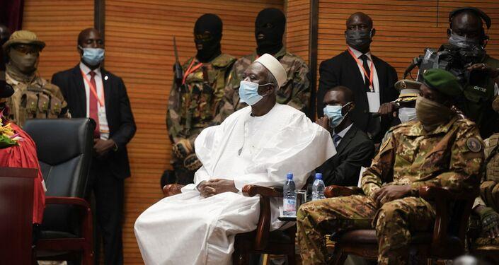 Le Président malien de la transition Bah Ndaw