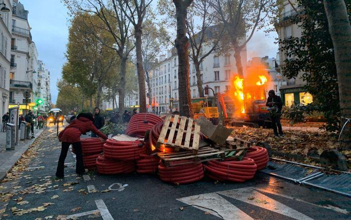 Acte 53 des Gilets Jaunes, Paris 16 novembre 2019