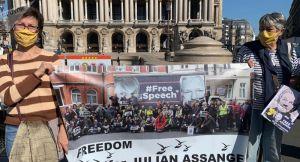 Julian Assange lauréat d'un prix de l'Union des journalistes de Russie