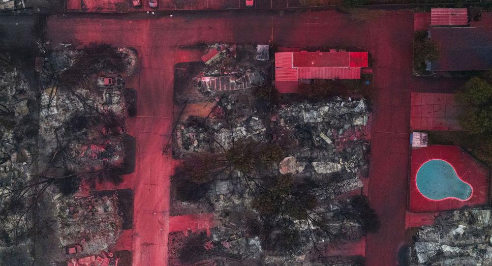 Images apocalyptiques d'une ville d'Oregon anéantie par les incendies