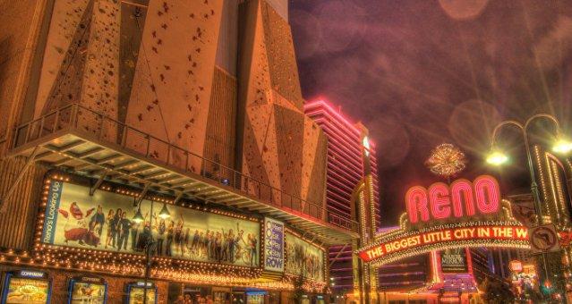 La ville américaine de Reno, au Nevada