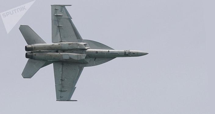 Un F/A-18 (image d'illustration)