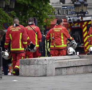 Notre-Dame de Paris: pompiers parisiens