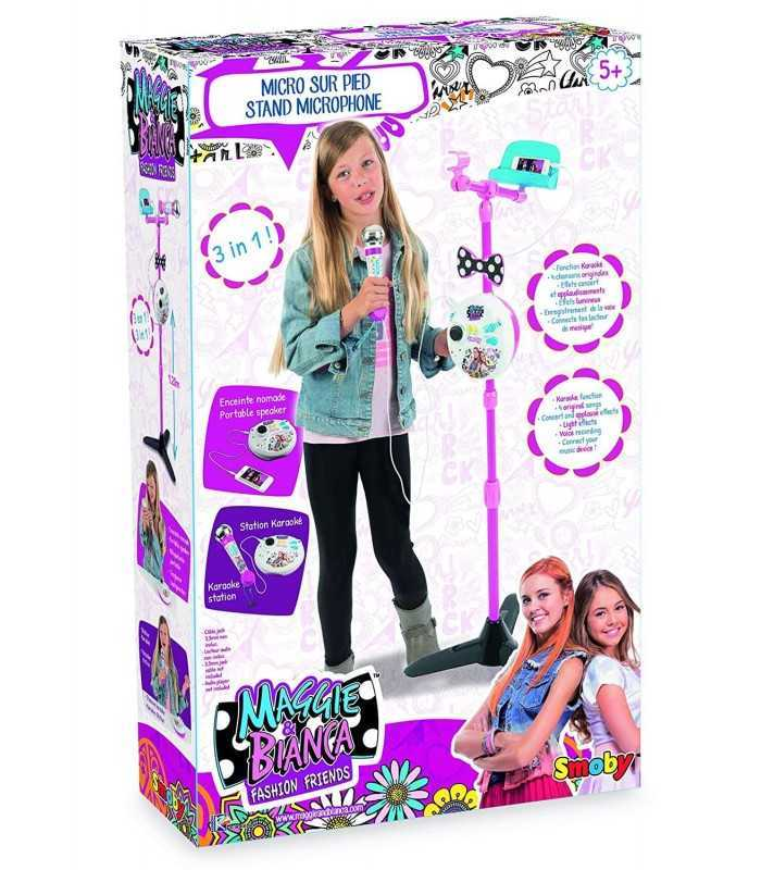 Maggie And Bianca Microphone Karaoke With Rod 3 In 1 Simba Toys F