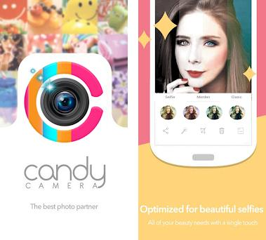 Candy Camera - selfie beauty camera on Windows PC Download