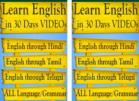 Learn English In 30 Days Through Videos App 2 2 Apk Download For