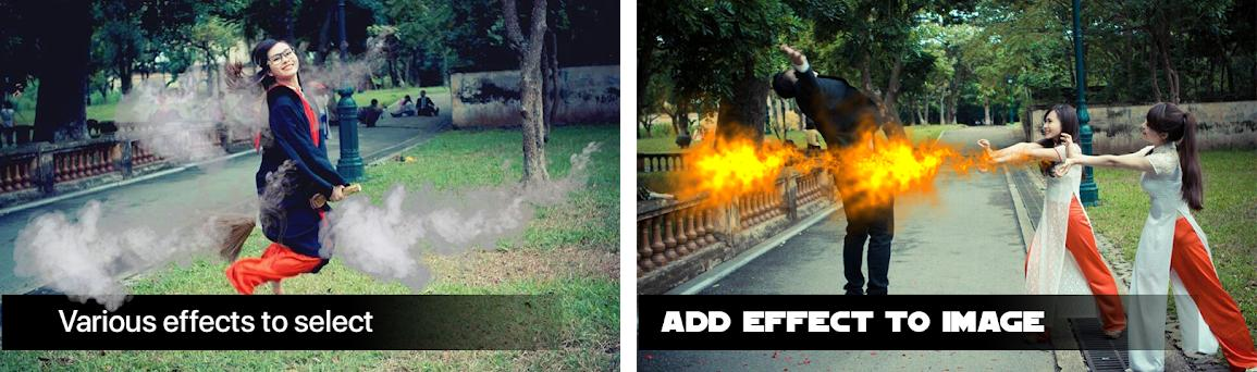 Action explosion app