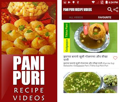 Pani puri recipe videos 1 5 4 apk download for Android • com