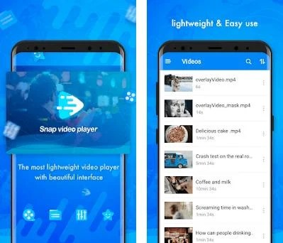 Snap Video Player - Simple & Light HD Video Player on