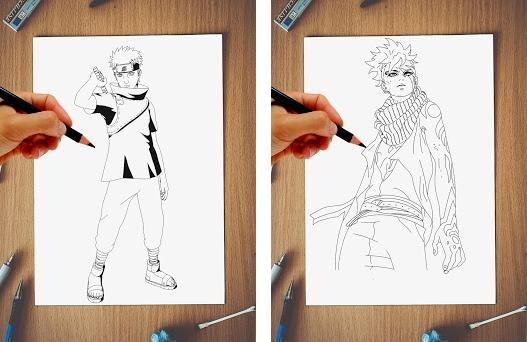 DRAWING NARUTO 1 9 apk download for Android • com FdsDev