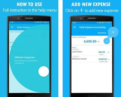 daily accounting app income expense calculator 1 0 0 apk download