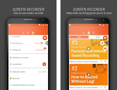Secret to Use Mobizen Screen Recorder 1 2 apk download for Android