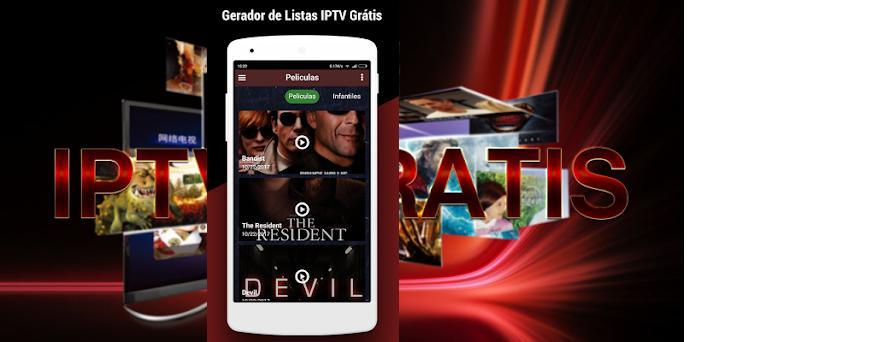Gerador de Player de IPTV (Free M3U List) on Windows PC