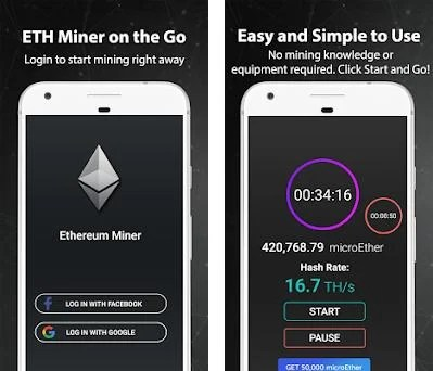 ETH Miner - Free Ethereum 2 0 8 apk download for Android