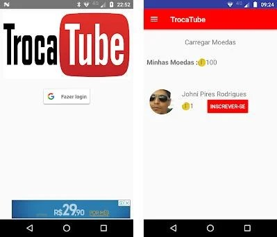 TrocaTube - Sub4Sub Pro 2 0 7 apk download for Android • com