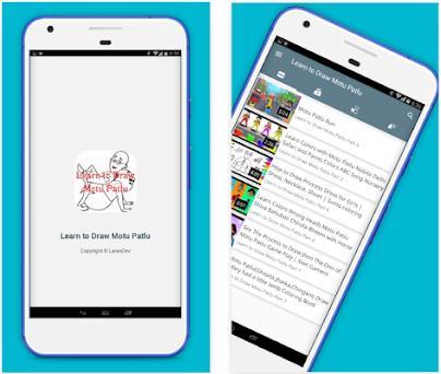 Learn To Draw Motu Patlu On Windows Pc Download Free 1 0 0 Com