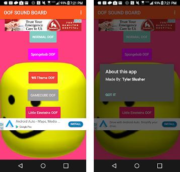 OOF SOUNDBOARD FREE V3 6 apk download for Android • com thunkable