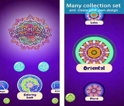 Mandala Coloring Game Preview Screenshot