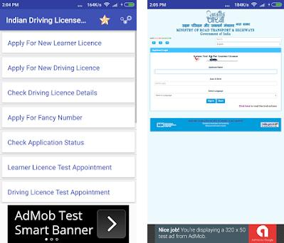 Indian Driving License Apply Online 1.0 apk download for Windows  (10,8,7,XP) • App id com.indian.driving.license.apply.online