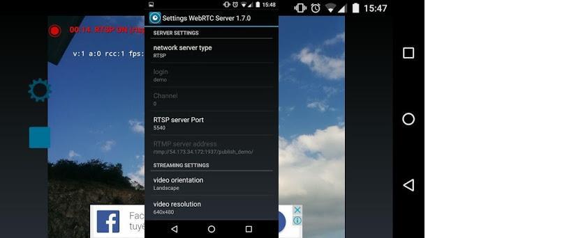 WebRTC Camera 1 1 apk download for Android • veg
