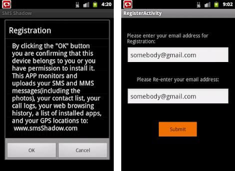 SMS Shadow Phone Tracker 3 41 apk download for Android • com