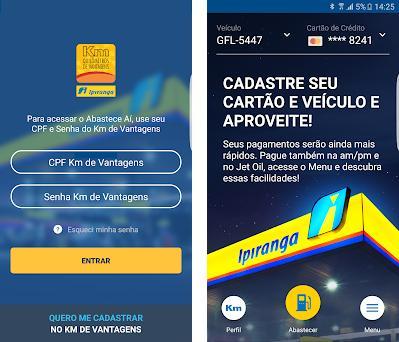 Abastece Aí: Abastecer com Desconto no Combustível Imagem da captura de tela