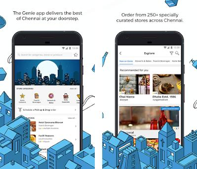 Genie - Buy, Pick up and Drop anything in Chennai 4 3 1 apk