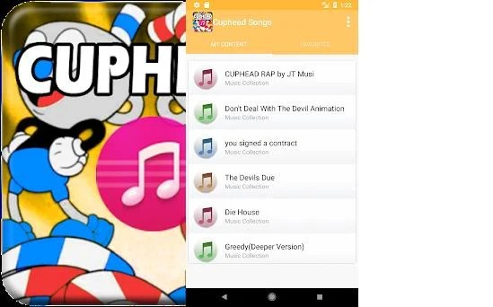Cuphead Songs Soundtrack 1 0 apk download for Android • com
