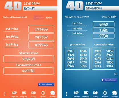 Live Draw Hongkong - Singapura - Sydney 1 0 apk download for Android