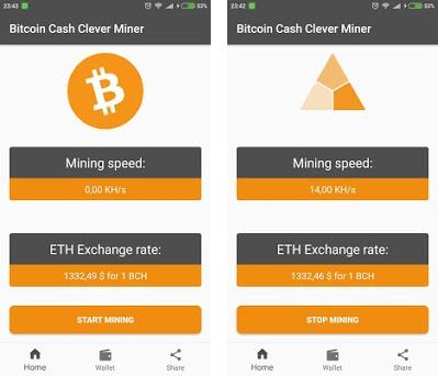 Free Bitcoin Cash BCH Miner 1 19 apk download for Android