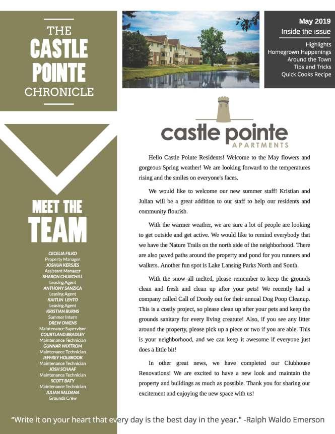 The Castle Pointe Community