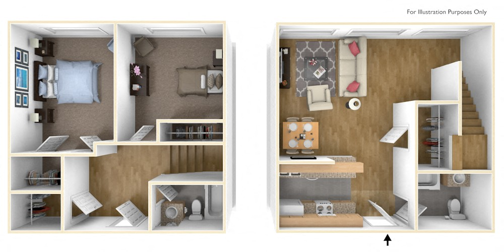 Floor Plans of Royal Worcester Apartments in Worcester MA